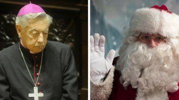 monsenor aguer critico a papa noel: no tiene nada que hacer en estas pampas, es culpa de coca cola y del imperialismo