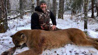 Canadá: Un conductor de TV mató a un puma y mostró cómo lo cocinó