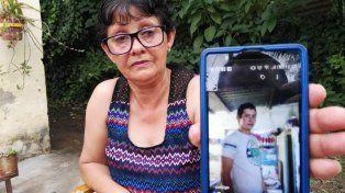 justicia. Ana María Deij espera que los autores del crimen de su hijo paguen con cárcel.