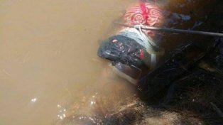 La historia detrás del hombre que apareció maniatado y flotando en el río Paraná