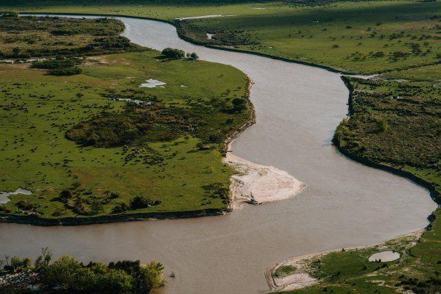 Río Gualeguay. Foto Gentileza Luis Giménez Beresiartu.