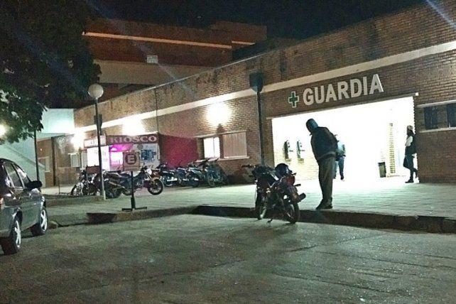 Márquez ingresó muy grave a la guardia del Hospital de Concordia.