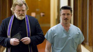 Protagonista. Brendan Gleeson interpreta a un cura honesto que es amenazado de muerte.