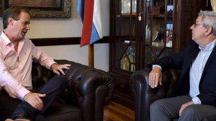 Planes. Tomás dijo que realizar los concursos es una prioridad del gobernador para el próximo semestre.