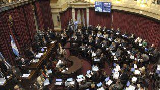 Tres leyes estratégicas se tratarán en la última sesión del año, en el Senado