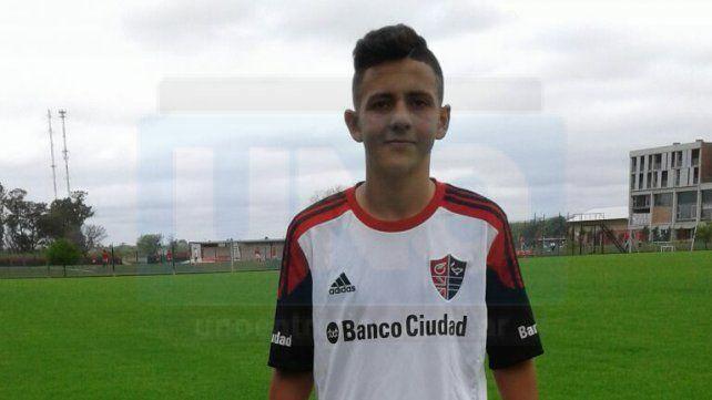 En su primer partido con la camiseta de Newells marcó cuatro goles Foto UNO Juan Ignacio Pereira