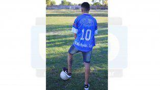 El enganche de Sportivo Urquiza deja el club para radicarse en Rosario FotoUNOJuan Ignacio Pereira