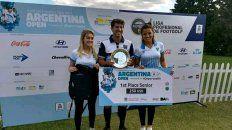 El mejor entre los suyos. El entrerriano se adjudicó el último Open Argentina en Buenos Aires para cerrar de la mejor manera 2017, un año muy intenso con mucha competencia.