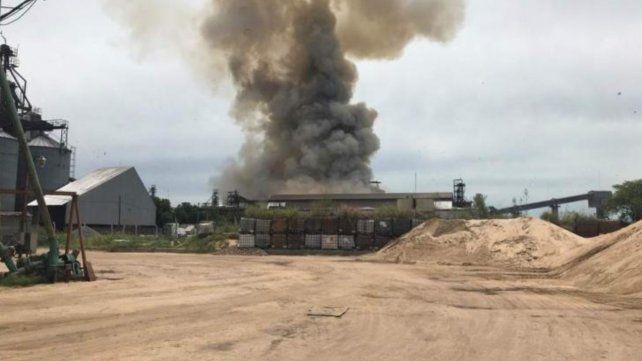 Santa Fe: al menos un muerto y 15 heridos en una explosión en una planta cerealera