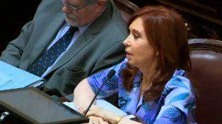 Cristina Kirchner: Negaron en la campaña que iban a tocar a los jubilados