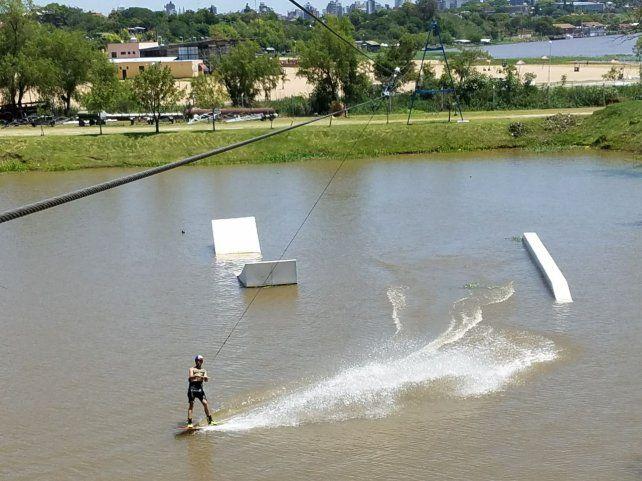 Las mejores fotos del Cable Fly Park del Club Náutico Paraná