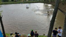 las mejores fotos del cable fly park del club nautico parana
