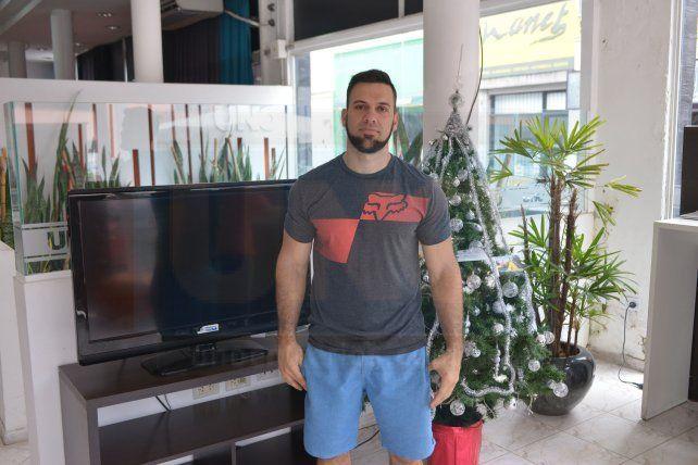Fabio Sattler: Cierro un año excelente, en lo familiar, salud, deporte y trabajo