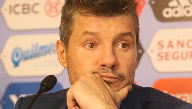 Tinelli se aleja de San Lorenzo
