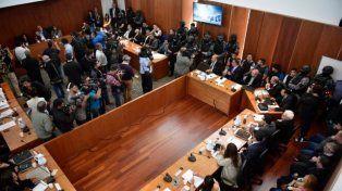 Histórico debate. El juicio se realiza bajo un estricto operativo de seguridad y acapara la atención de toda la comunidad.