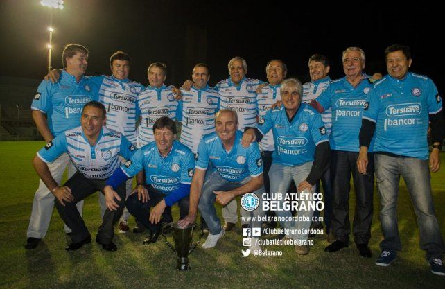 Foto: Club Atlético Belgrano. Equipo campeón del 86