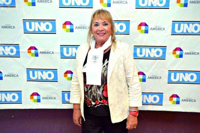 Alicia Mabel Reynoso Este año presentó su obra Crónicas del Olvido. Mujeres enfermeras en la Guerra de Malvinas