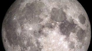 Mirá la Superluna de año nuevo