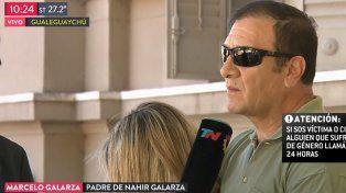 Caso Pastorizzo: El padre de Nahir Galarza dio a entender que su novio la golpeaba