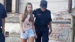 A la comisaría. Galarza fue imputada y luego derivada a la dependencia policial donde cumplirá el arresto preventivo.