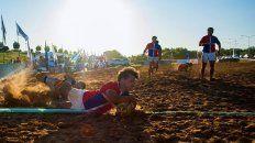 actividades deportivas en la playa de concepcion del uruguay