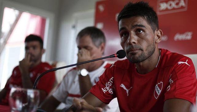 Walter Erviti no será tenido en cuenta en Independiente