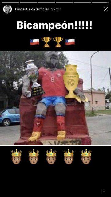 Vidal les contestó a los que hicieron su muñeco en La Plata