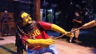 El Gordo Mortero fue homenajeado por los vecinos de Quilmes