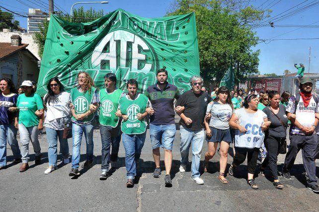 movilización. El Consejo Directivo Nacional dispuso una marcha hacia el Ministerio de Modernización.