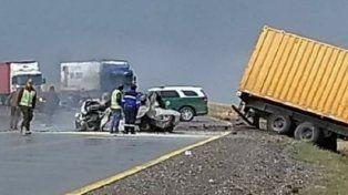 Murieron calcinados cinco argentinos en un terrible choque en Chile
