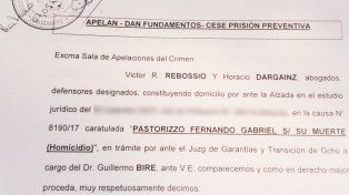 Caso Fernando Pastorizzo: Los abogados de Nahir Galarza solicitaron prisión domiciliaria