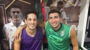 Pretemporada. El jugador entrerriano de 22 años tiene 51 partidos con la camiseta del Taladro. Ayer junto a su compañero de inferiores Franco Colela