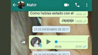 Fuerte cruce en Twitter entre los amigos de Nahir y Fernando Pastorizzo