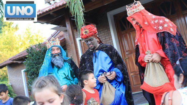Llegaron los Reyes Magos a Paraná