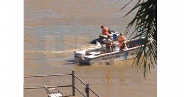 Encontraron el cuerpo de un joven en el río, en la zona de Bajada Grande