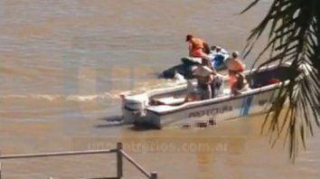 encontraron el cuerpo de un joven en el rio, en la zona de bajada grande