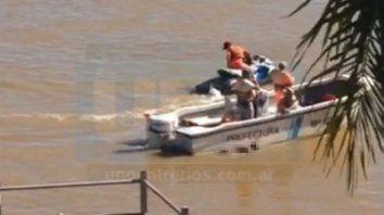 encontraron el cuerpo del joven que se habia tirado al rio para refrescarse