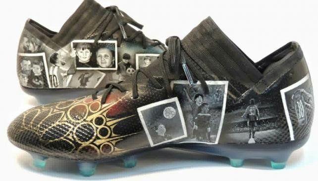 Los botines personalizados que le hicieron a Messi