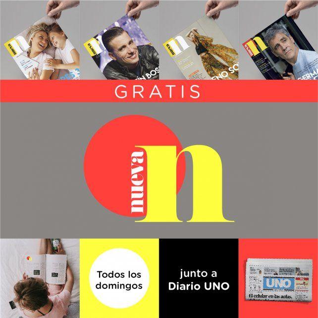 Recibila GRATIS a partir del próximo domingo junto a Diario UNO