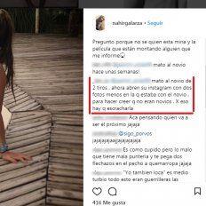 Nahir Galarza no puede usar las redes sociales pero alguien reabrió su Instagram y borró fotos