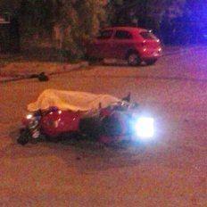 Un motociclista de 38 años perdió la vida en un accidente de tránsito