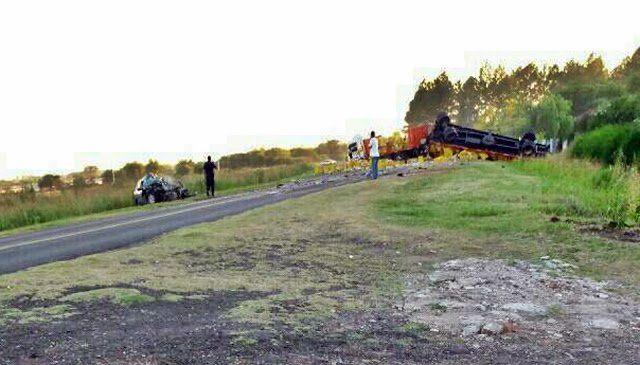 Murió un joven de 26 años en un choque frontal en ruta 39