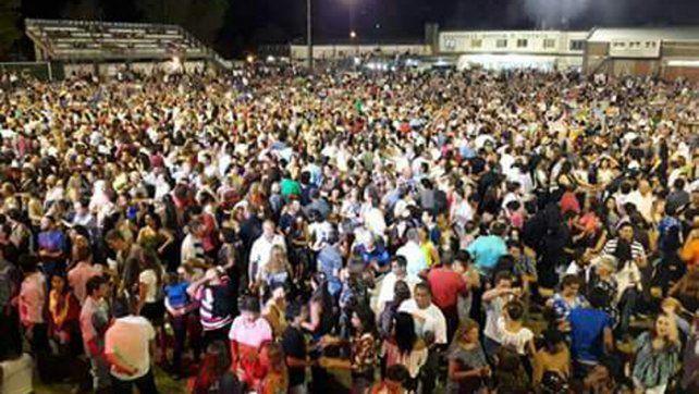 El estadio mundialista 26 de Agosto