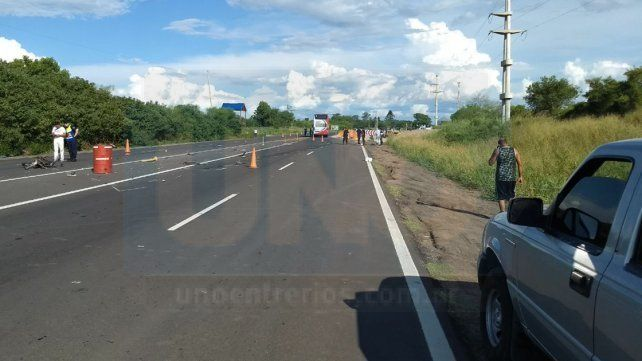 Por la muerte del motociclista en el Acceso Norte, fue detenido un policía
