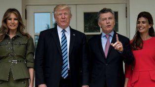 Relaciones. Trump le avisó a Macri que la economía no da para chistes.