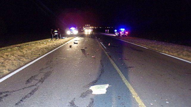 Un motociclista murió al chocar contra un micro de larga distancia