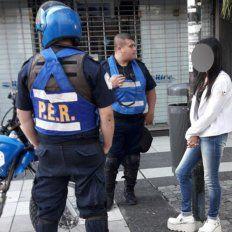 A la Alcaidía. El fiscal a saber del hecho, ordenó la detención de la acusada. Foto: Gabriel Miño.
