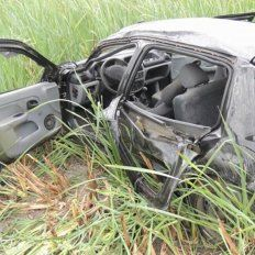Falleció la nena de cinco años y son dos los muertos por el accidente en ruta 6