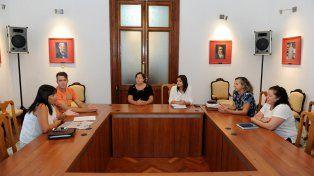 Intercambio. El colectivo de padres y los funcionarios destacaron la posibilidad de fortalecer vínculos.