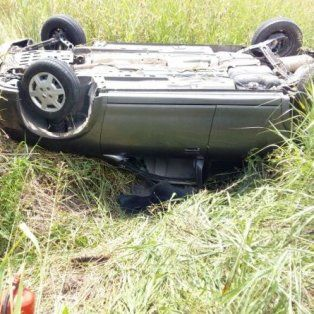 Tras un vuelco en ruta provincial 20, advierten sobre el mal estado del asfalto